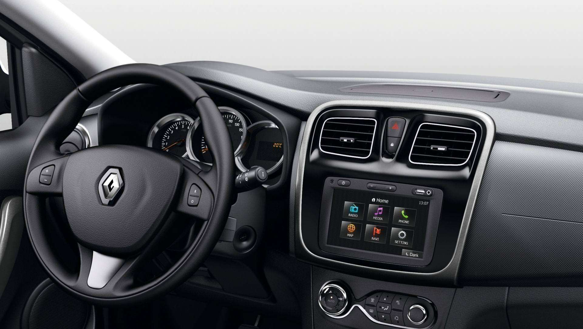 Технології Renault Sandero Stepway