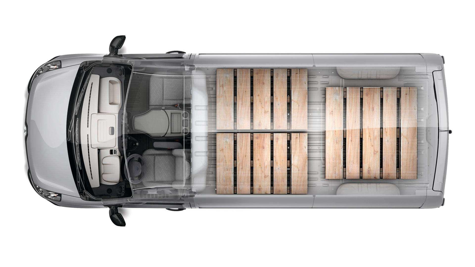 Вантажний простір Renault Master