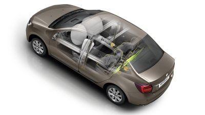 Передние и боковые подушки безопасности