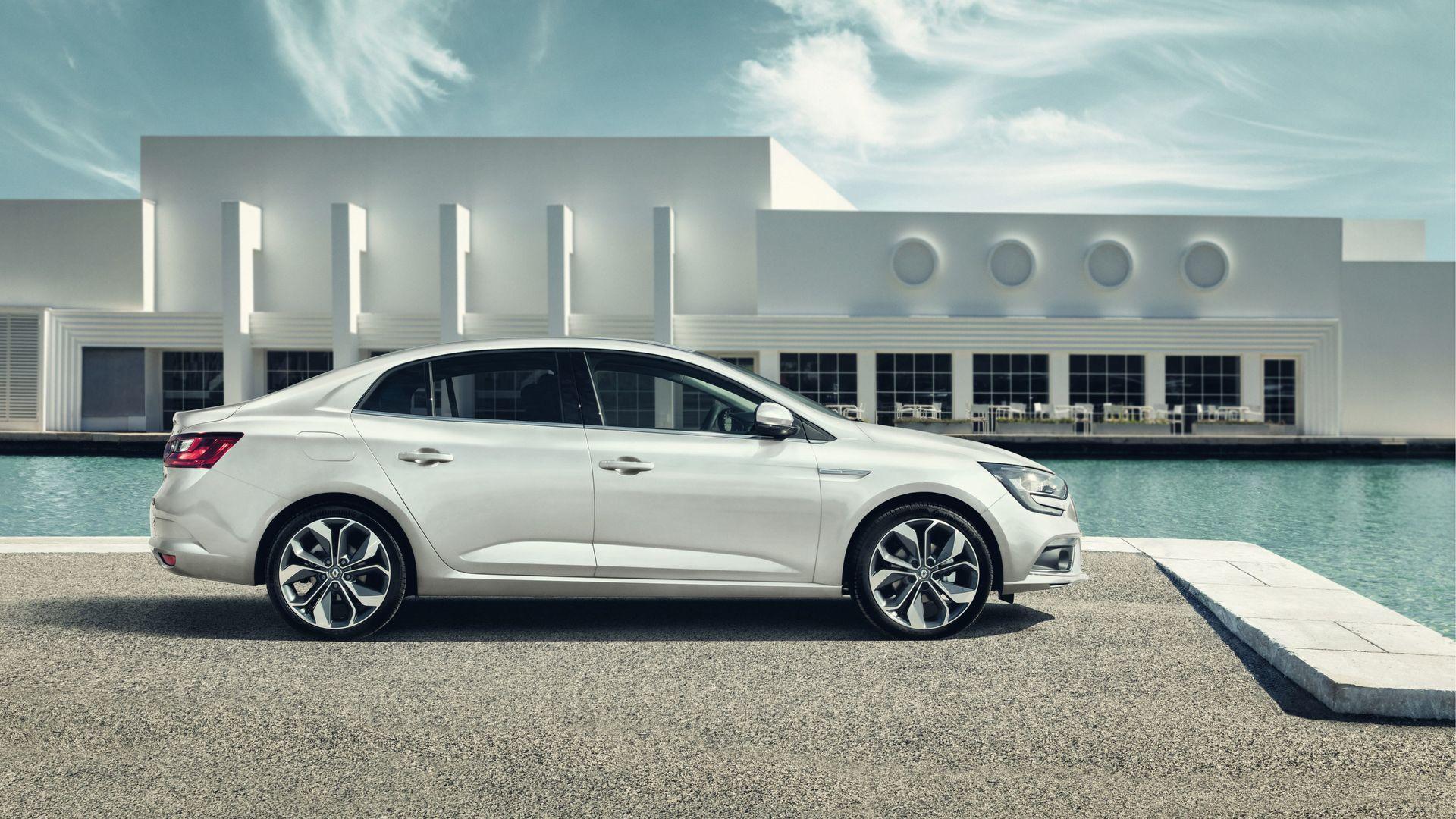 Внешний дизайн нового MEGANE Sedan (Меган Седан)