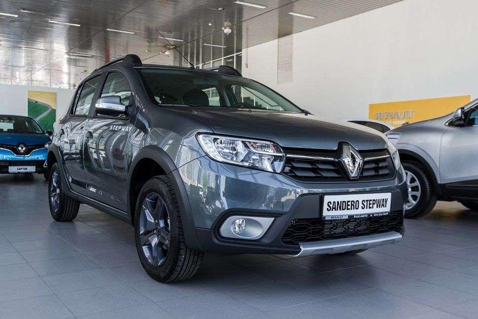 Лимитированная версия Renault Sandero Stepway Сross