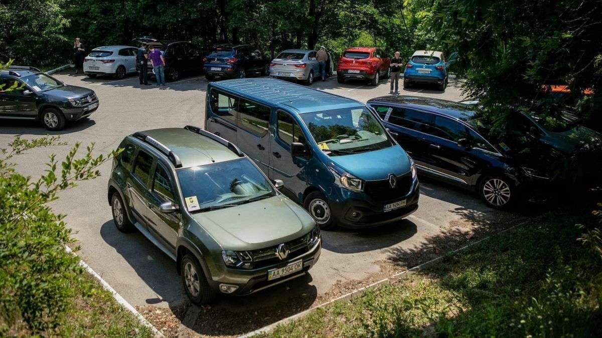 Автопробег Renault 2017