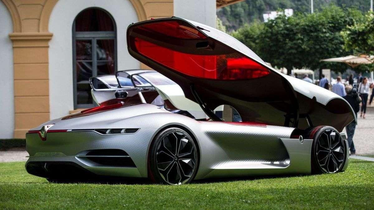 Renault TREZOR получил звание самого красивого концепт-кара на престижном итальянском конкурсе Concorso d'Eleganza Villa d'Este