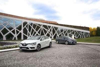 Компанія Renault в Україні представляє абсолютно новий Megane седан