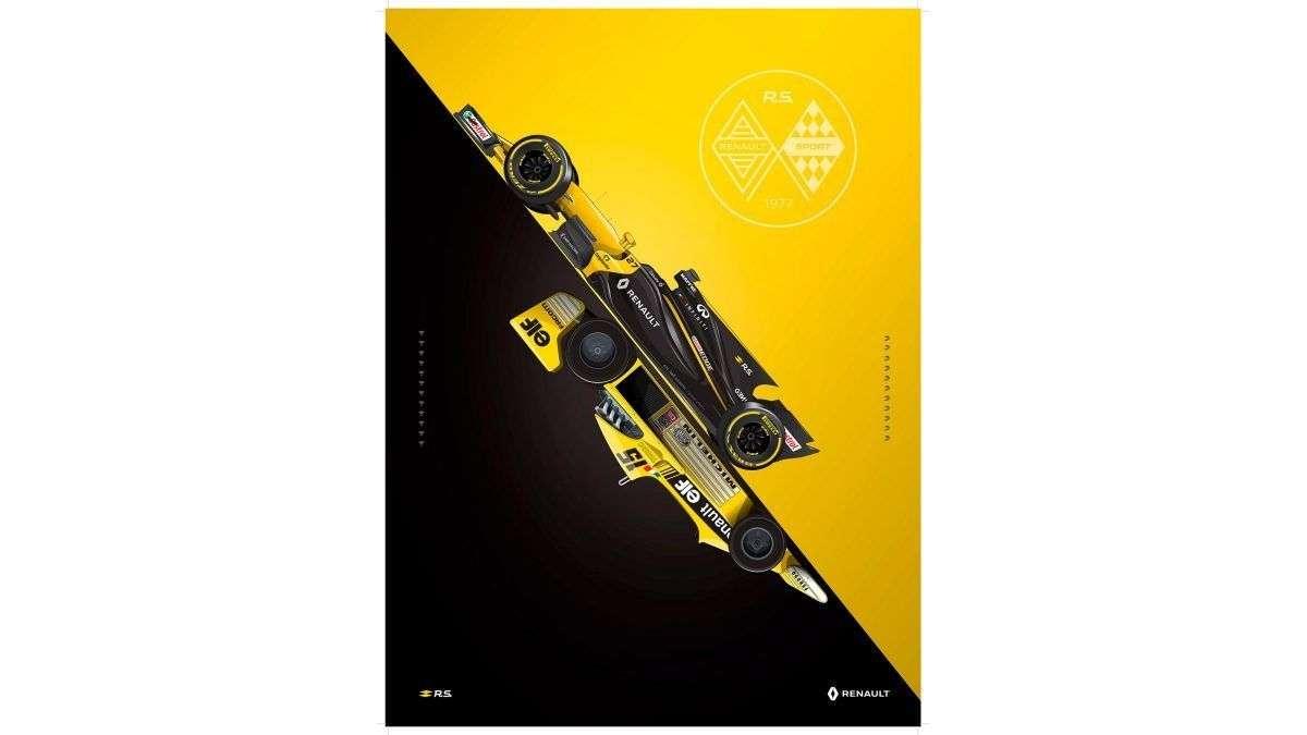 Renault Відсвяткувала 40-Річний Ювілей Своєї Участі У «Формулі-1» І Випустила «Жовтий Чайник» 2017 Року