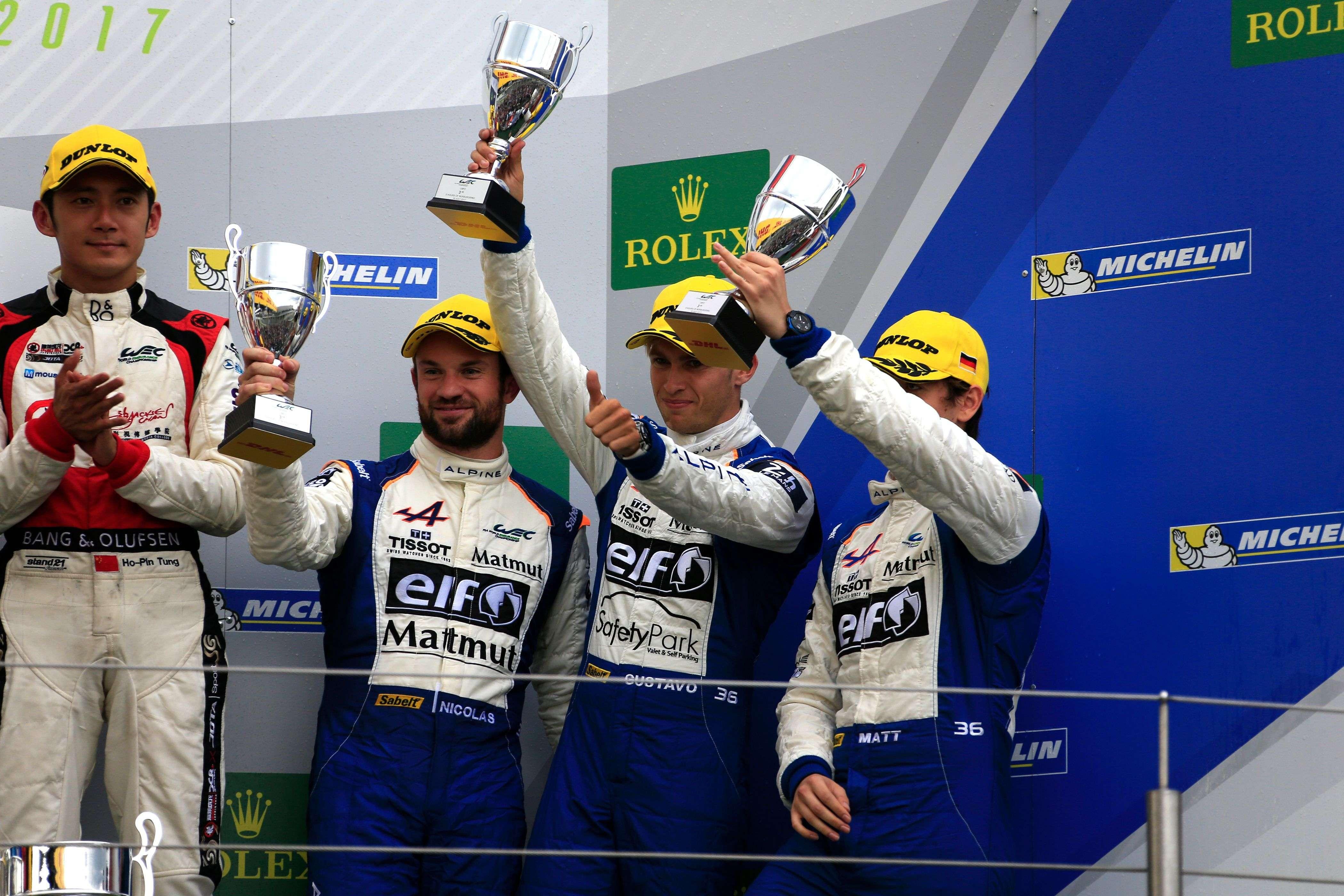 Команда Signatech Alpine Matmut стверджує, що своєю наполегливістю здатна завоювати друге місце на п'єдесталі