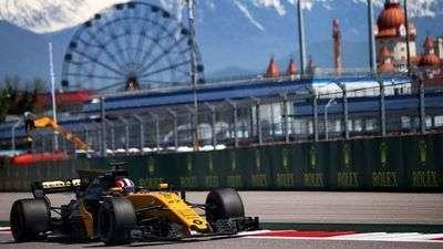 Renault Sport Formula One team на формуле-1 гран-при России