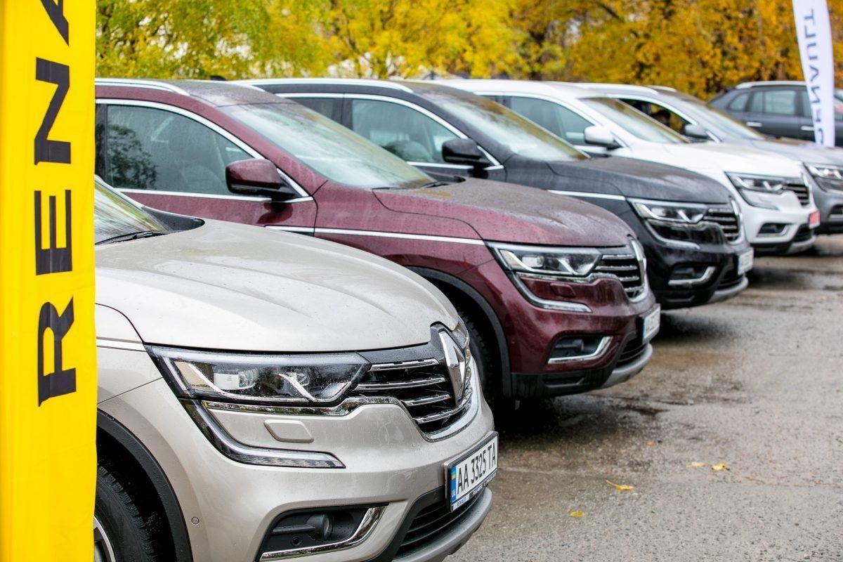 Презентация нового Renault Koleos в Украине