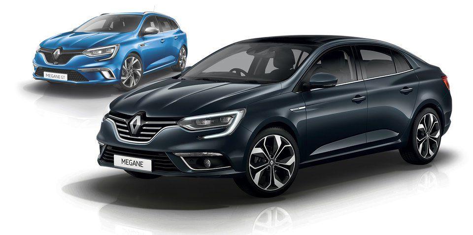 новый Renault MEGANE Sedan