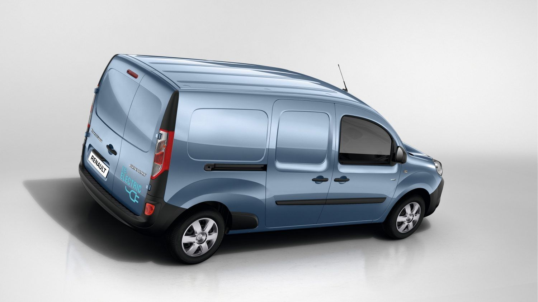 Renault KANGOO Z.E.: покращений дизайн