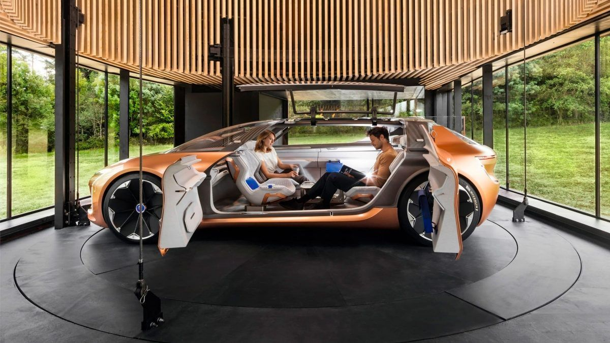 Renault представляет Symbioz: концепцию автомобиля будущего в 2030 году