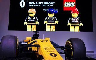 Команда Renault Sport Formula one Team® и французское подразделение LEGO® объединяют усилия в L'ATELIER RENAULT