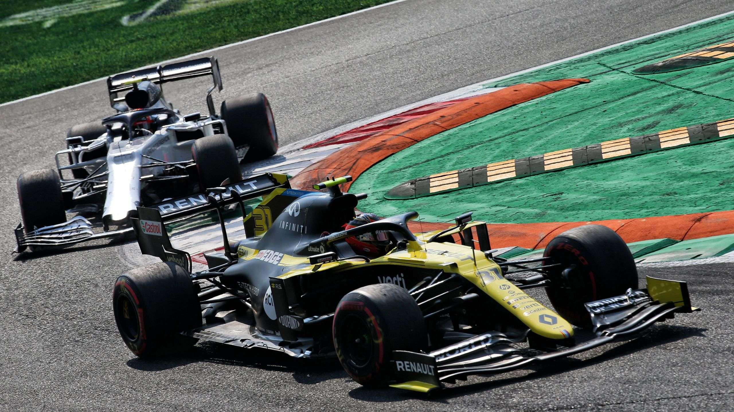 Renault F1® Team на Гран-Прі Італії