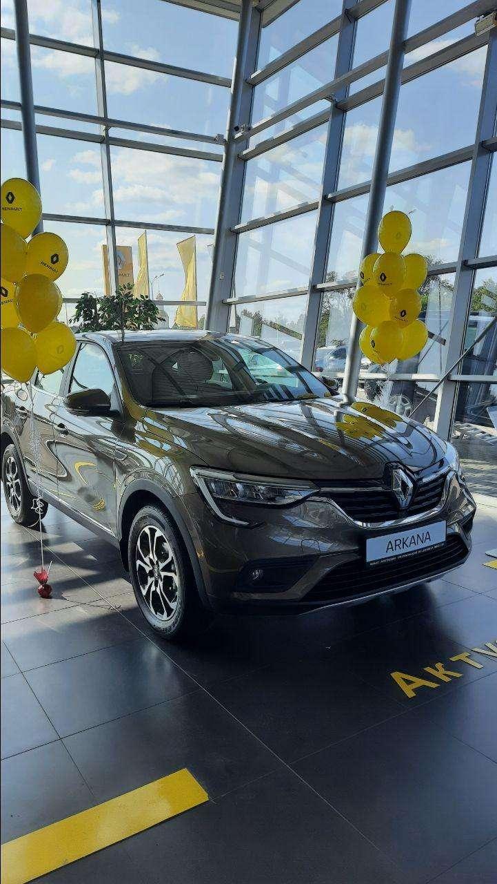 Renault ARKANA в салоні Renault Автотрейдінг-Дніпро