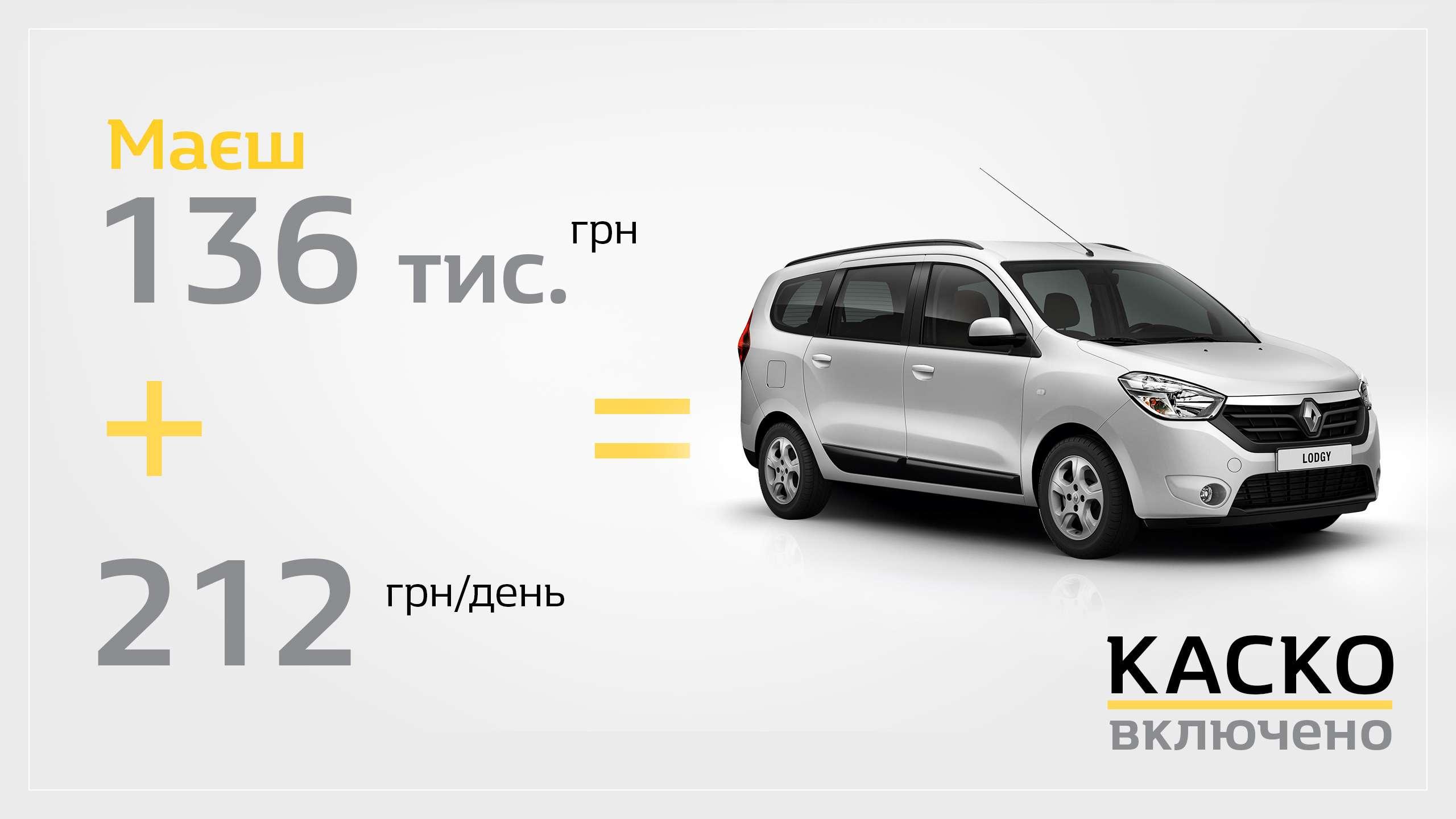 Заощаджуйте 40 000 грн за кредитною програмою «Renault Бонус»!