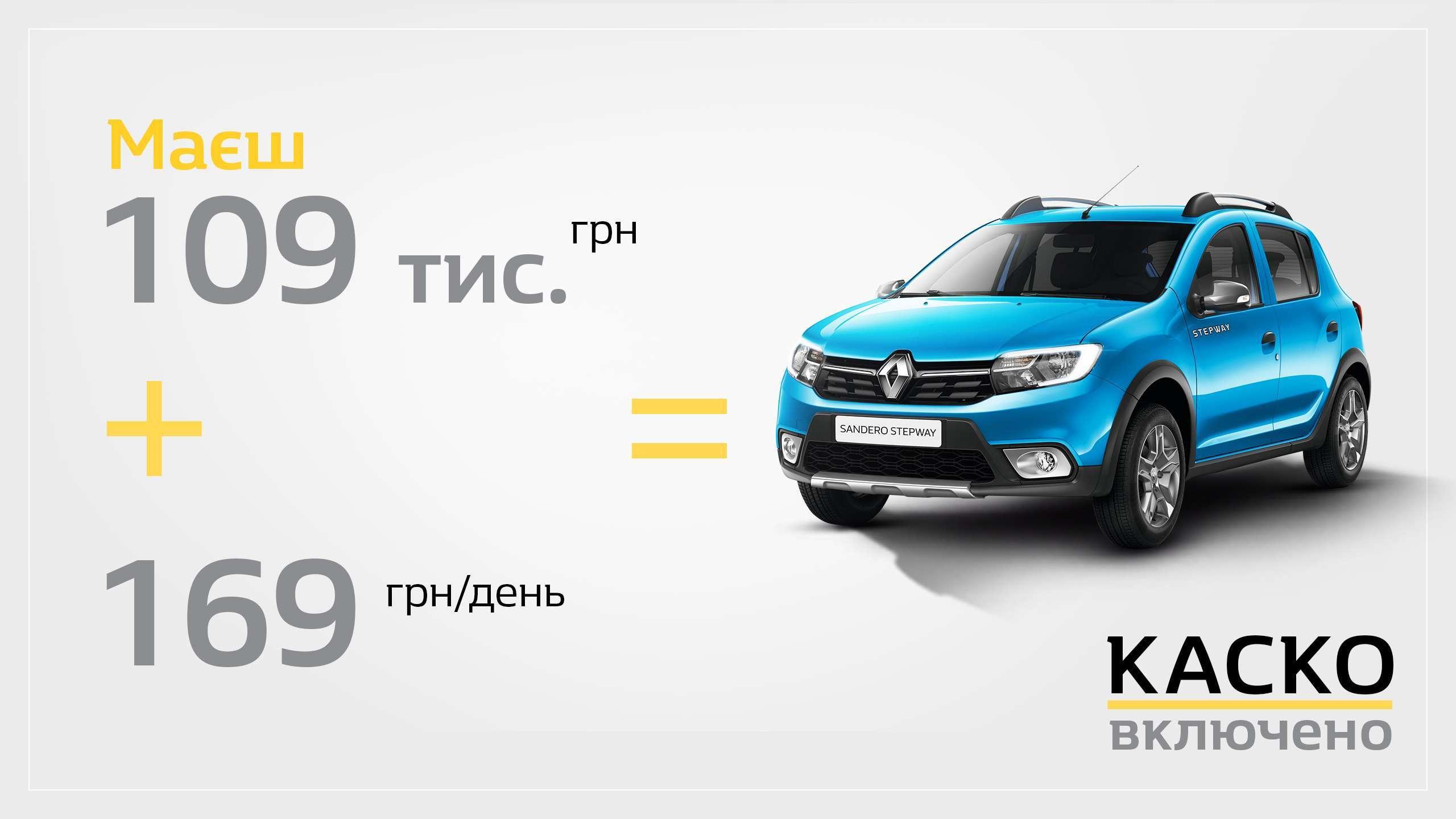 Заощаджуйте 30 000 грн за кредитною програмою «Renault Бонус»!