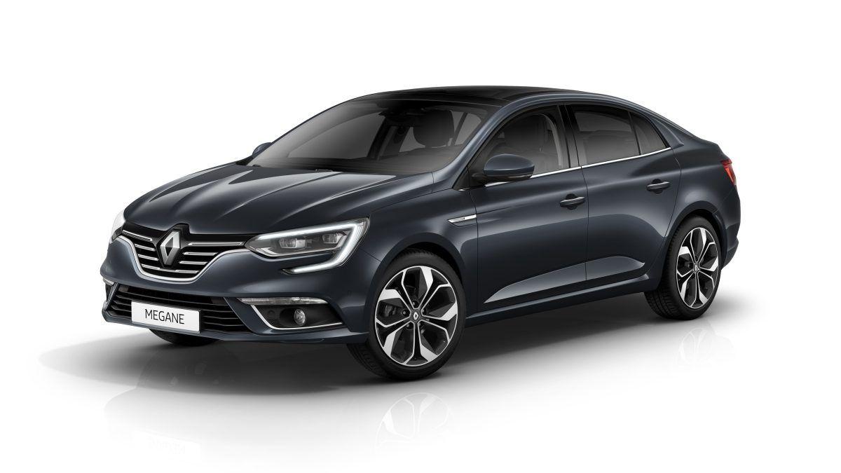 новий Renault MEGANE Sedan