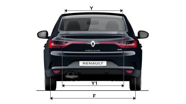 Новий Renault MEGANE Sedan: розміри