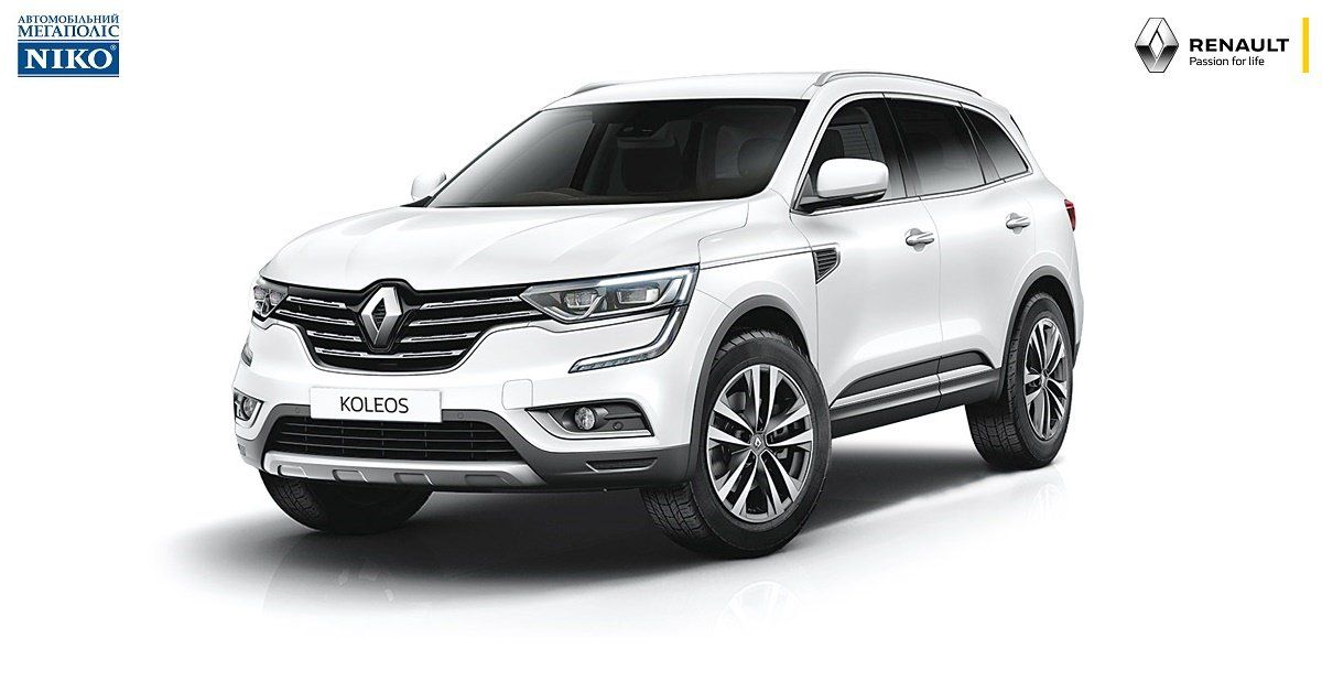 Распродажа тестового авто Renault Koleos 2017 года в комплектации Intense