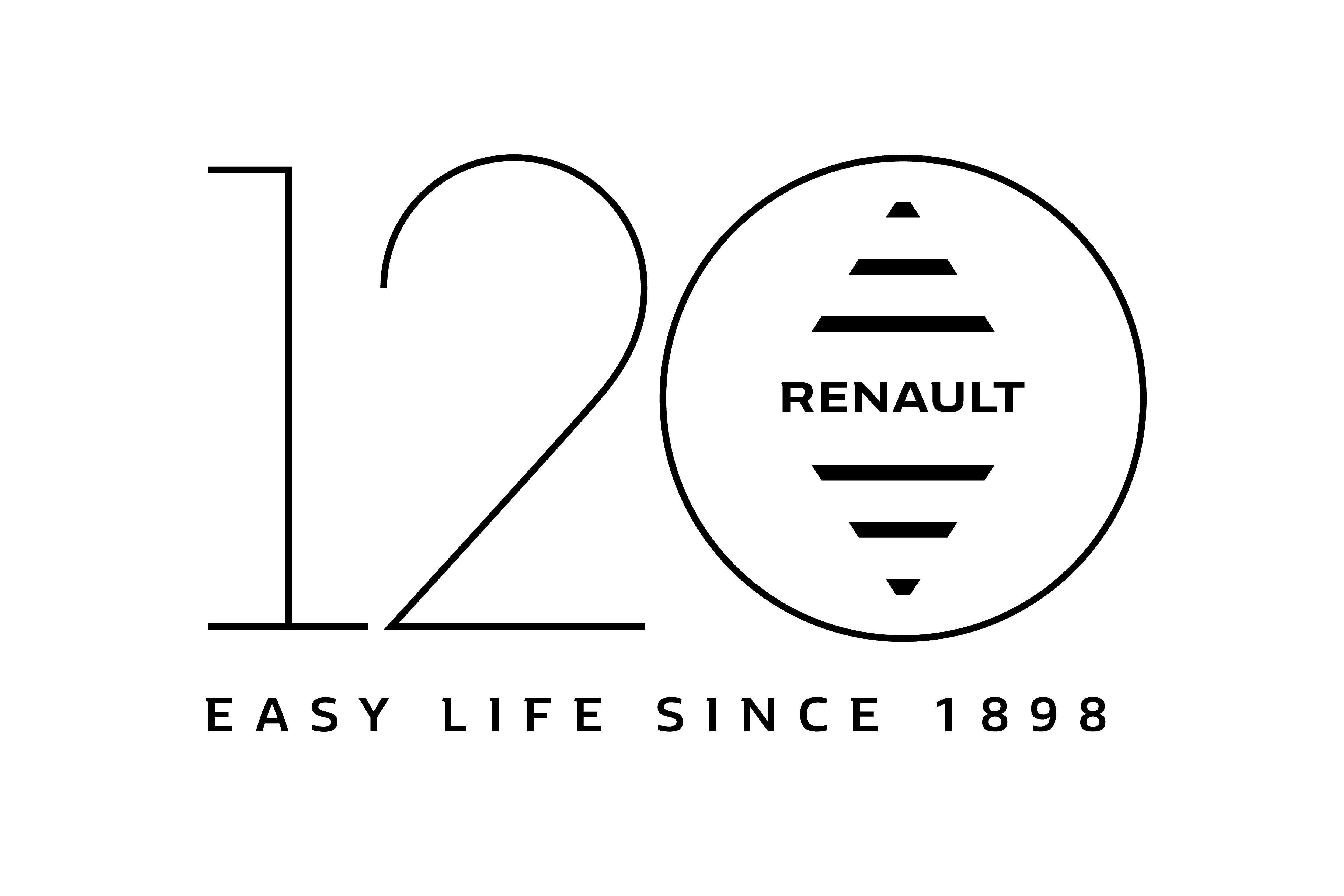 RENAULT ВІДЗНАЧАЄ 120 РОКІВ