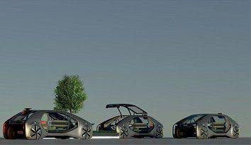 RENAULT EZ-GO: світова прем'єра концепта робомобіля для міського транспорту загального користування