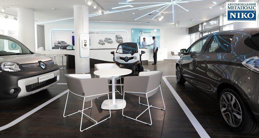 «НИКО Прайм Мегаполис» сообщает, что Renault открывает концептуальный шоурум электромобилей в центре Берлина