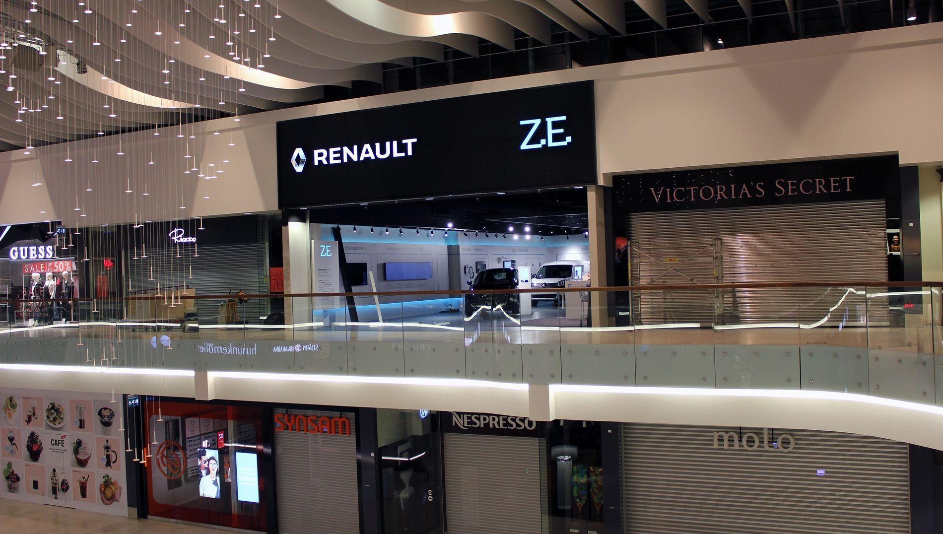 Renault откроет первый концептуальный шоурум электромобилей в Европе