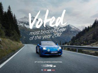 Alpine a110 отримала престижну нагороду на міжнародному автомобільному фестивалі