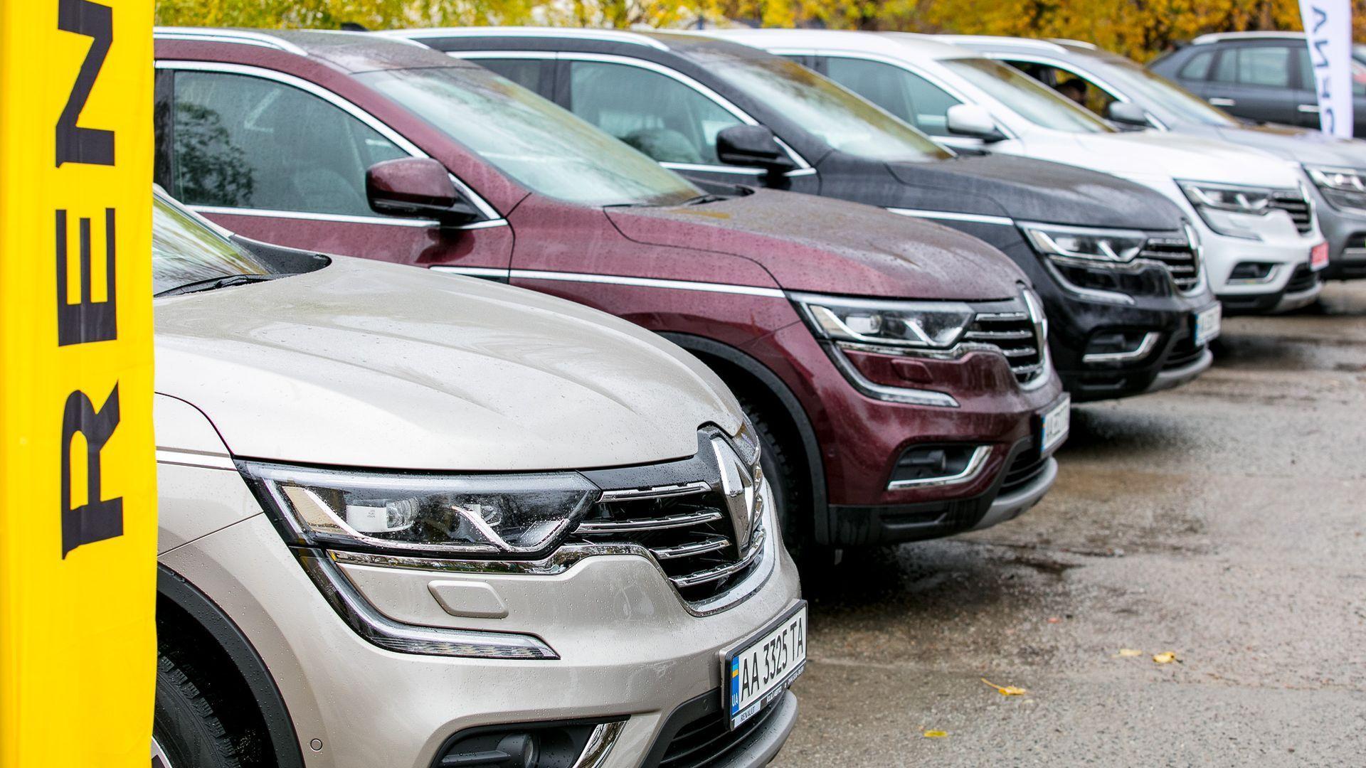 Бренд Renault - лидер автомобильного рынка Украины третий год подряд