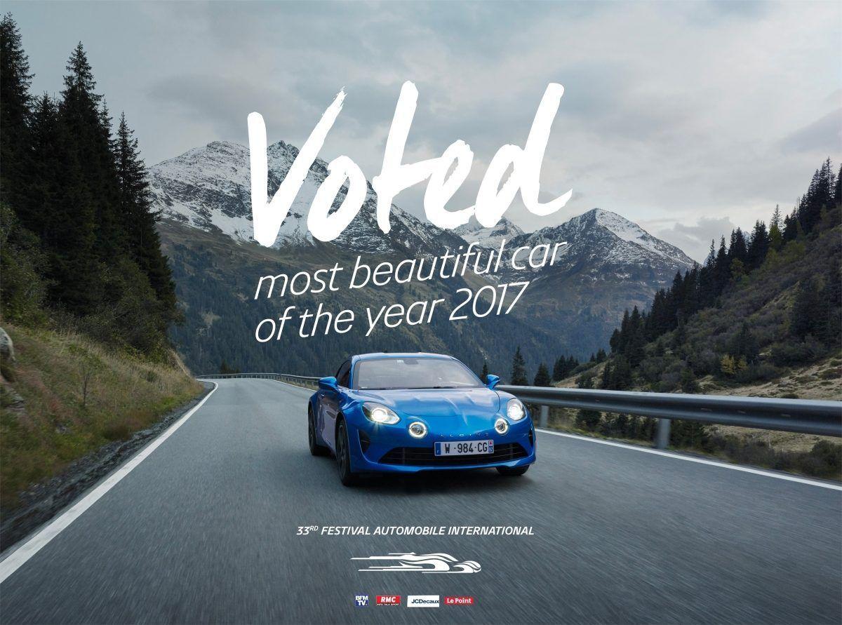 Alpine a110 получил престижную награду на международном автомобильном фестивале