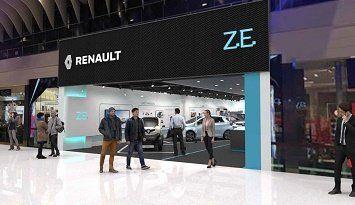 RENAULT открывает первый концептуальний шоурум электромобилей в Европе