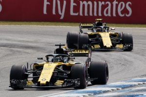 Renault Sport Formula One Team: п'яте місце за складної погоди