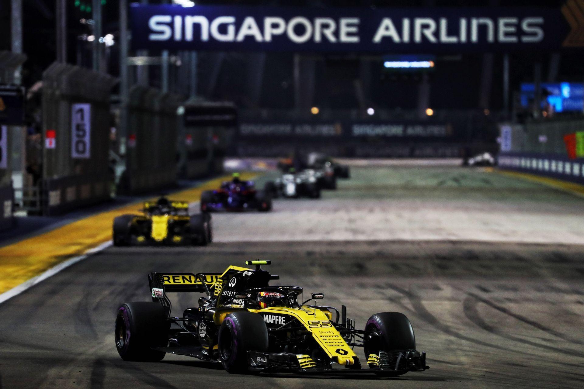 Renault Sport Formula One Team отримала п'ять очок в Сінгапурі