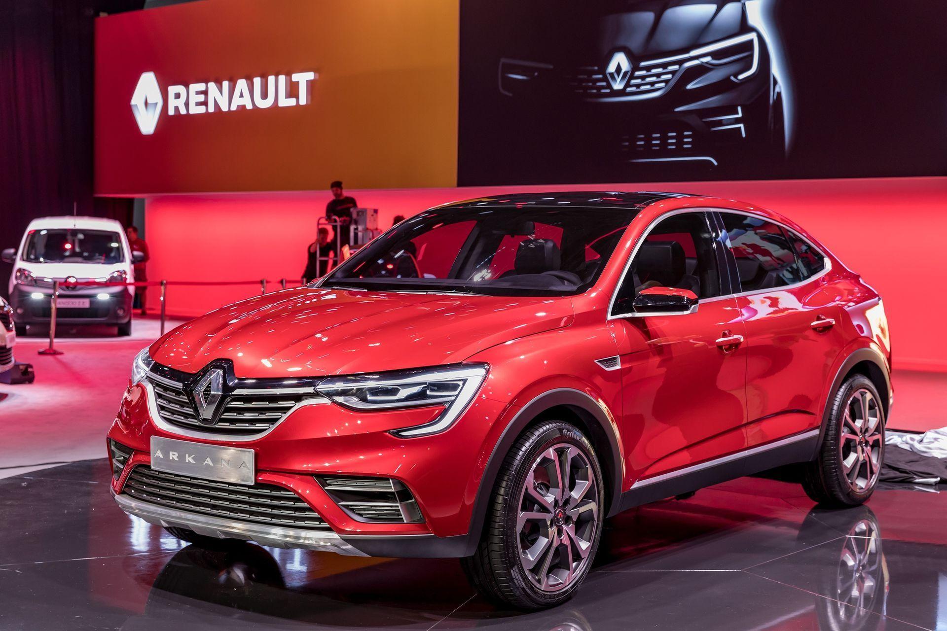 Renault представила шоукар абсолютно нового купе-кросовера Renault Arkana