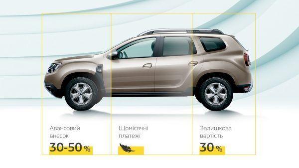 """""""Легкий кредит"""" від Renault Фінанс"""