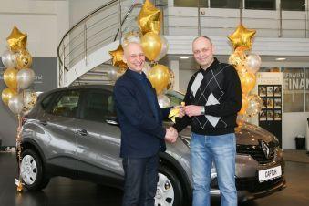 Новий Renault Captur вручили переможцю конкурсу «автомобіль року в Україні 2018»