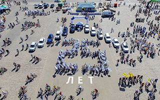 Международный Автомобильный Холдинг «Солли-Плюс» - ежегодный участник Харьковского Велодня