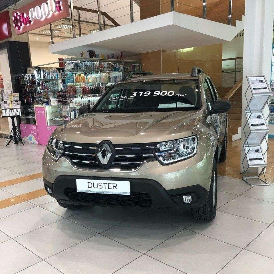 «НИКО Прайм Мегаполіс» запрошує на експозицію Renault Duster в м.Бориспіль
