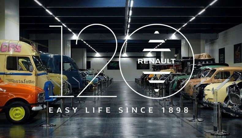 120 років Renault