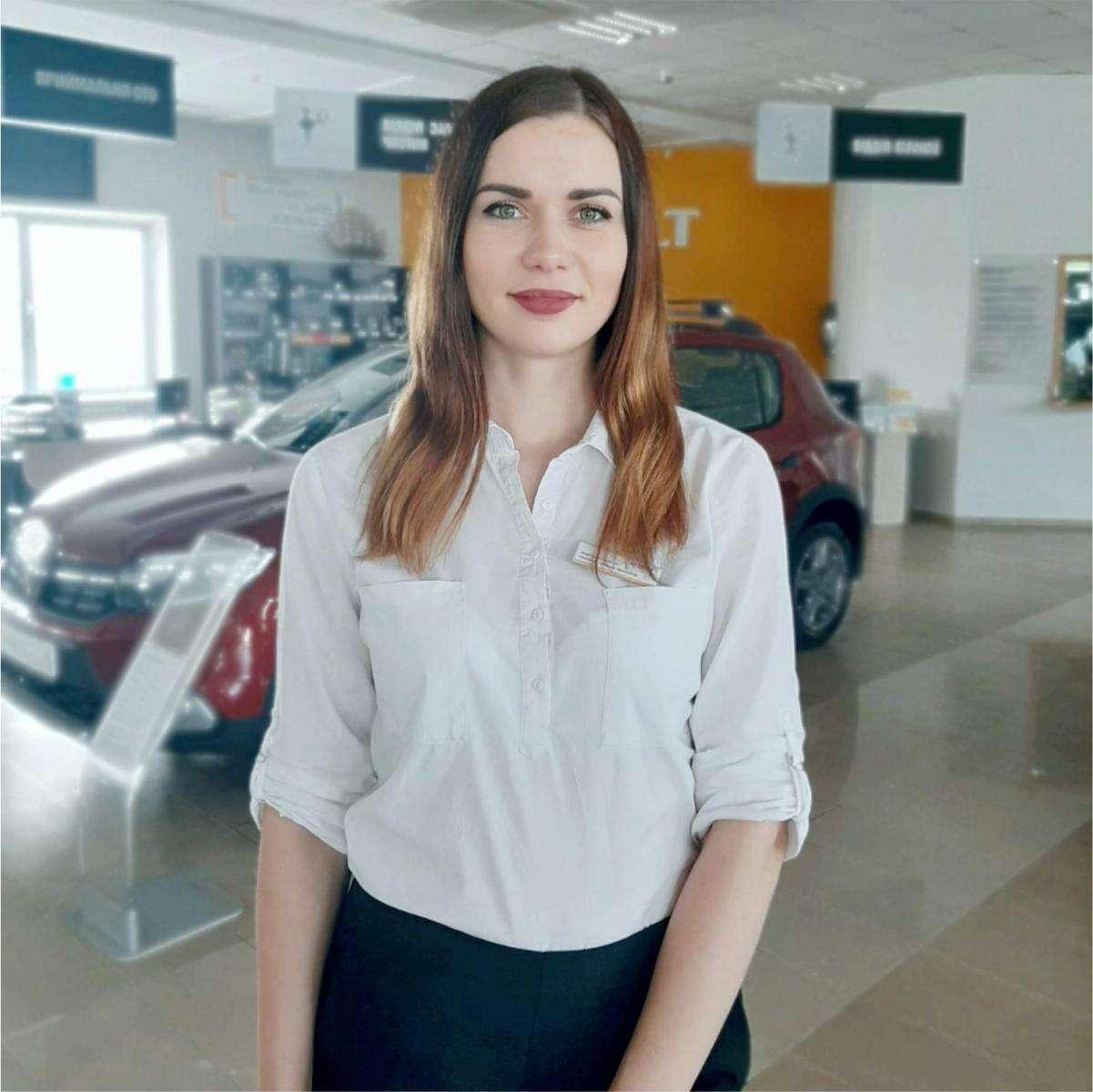 Анастасія Свистун – менеджер з продажу