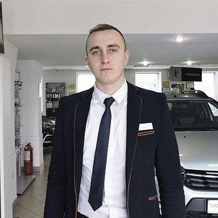 Висоцький Микола – менеджер з продажу